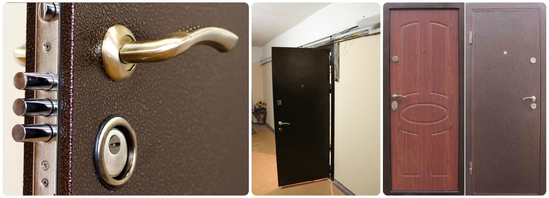 металлические входные двери выбор