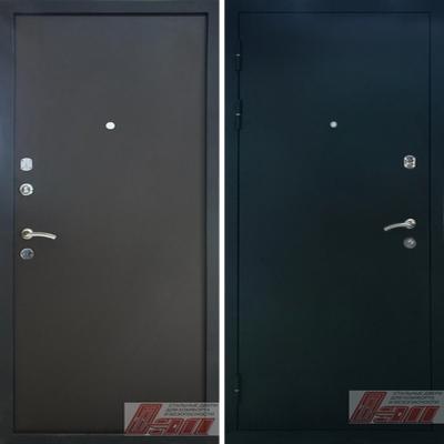 железные двери черный бархат