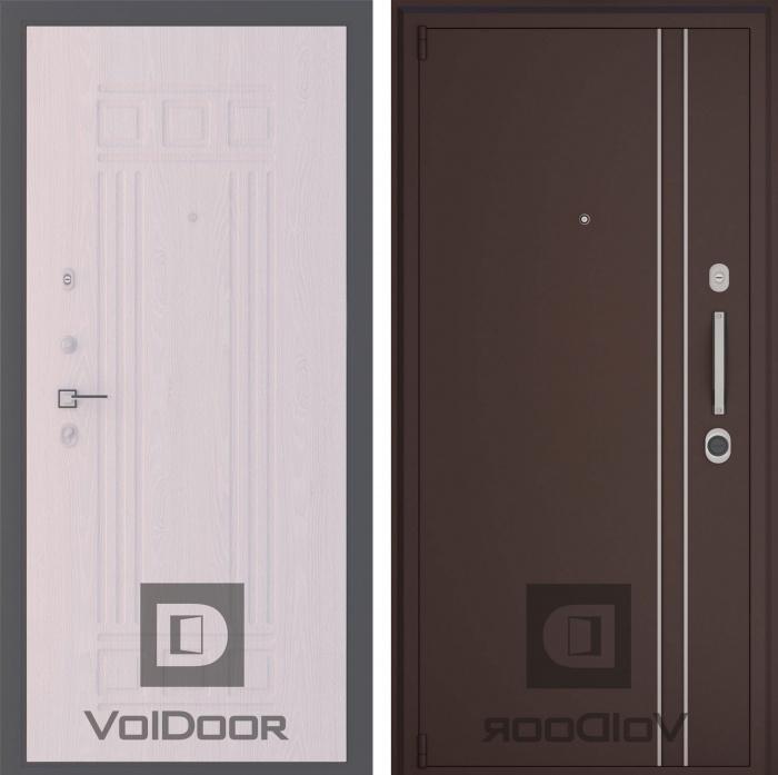 двери со стальной защитой